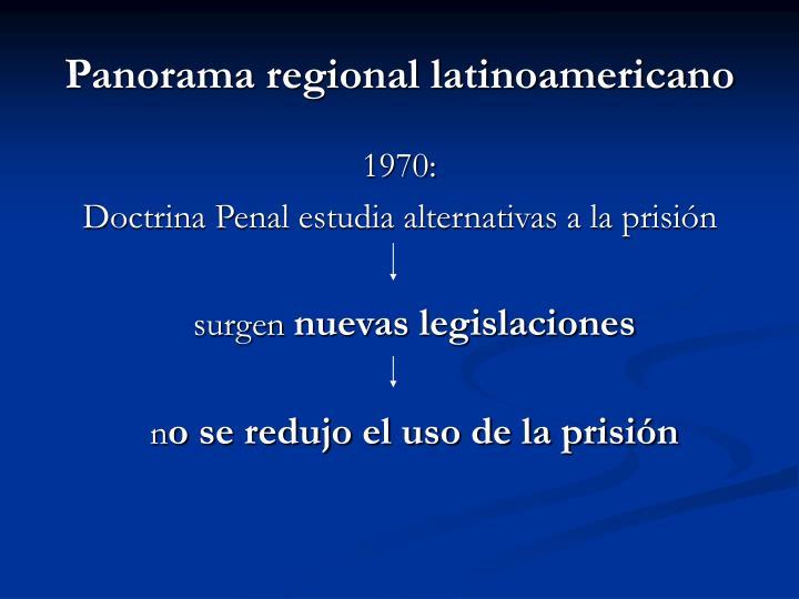 Panorama regional latinoamericano1