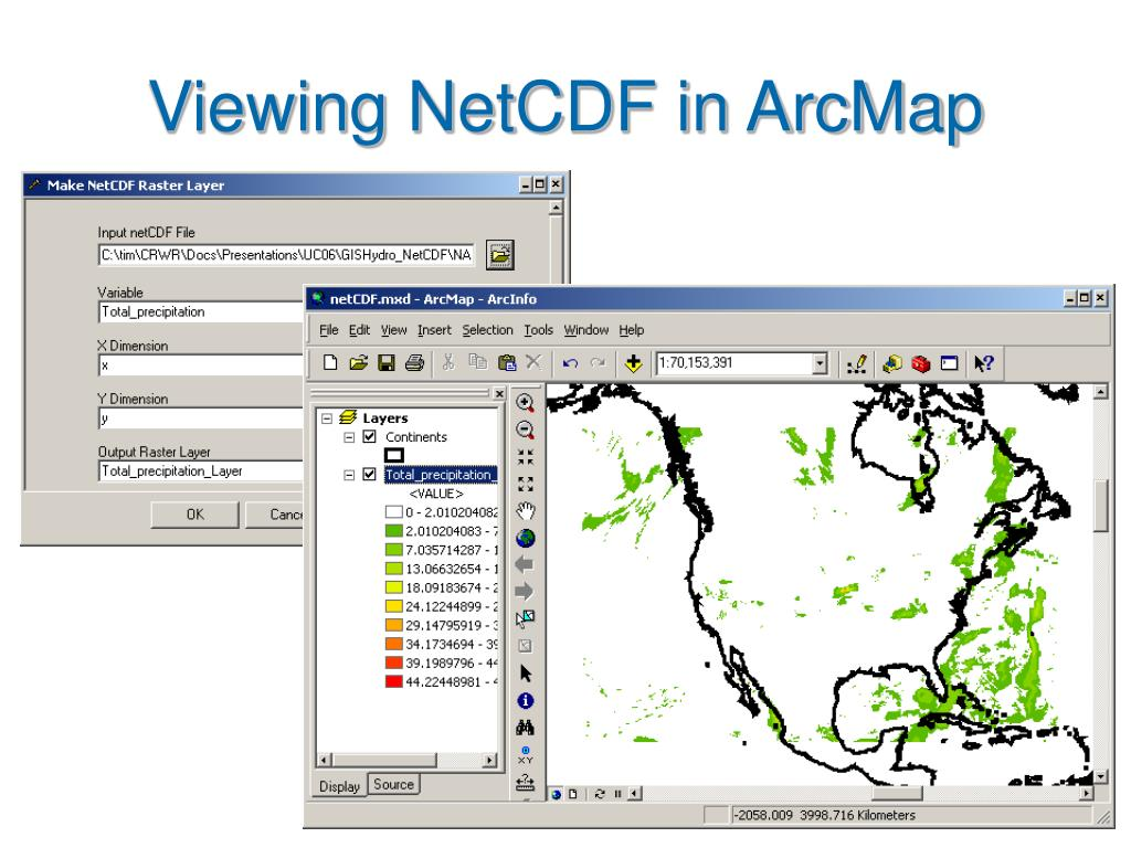 PPT - Multidimensional Data and GIS PowerPoint Presentation