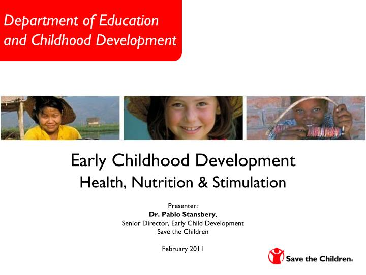 department of education and childhood development n.