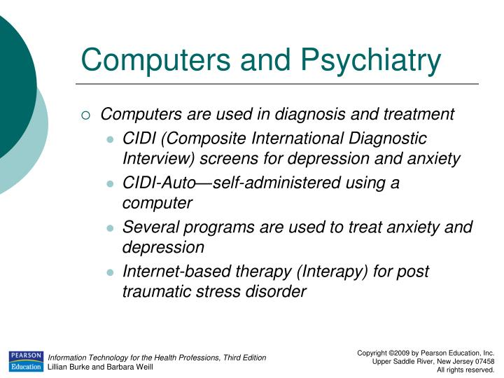 Computers and Psychiatry