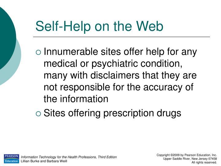 Self-Help on the Web