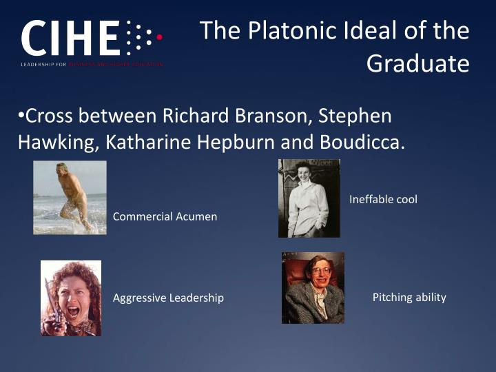 The Platonic Ideal of the Graduate