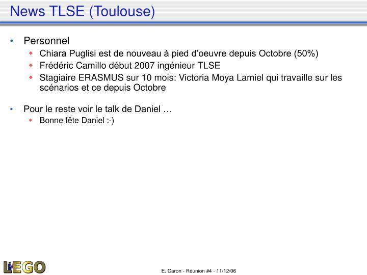 News TLSE (Toulouse)