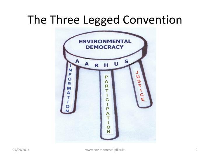 The Three Legged Convention