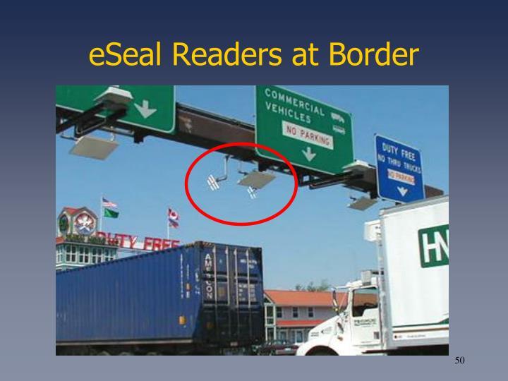 eSeal Readers at Border