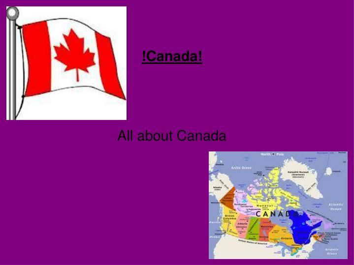 canada all about canada n.