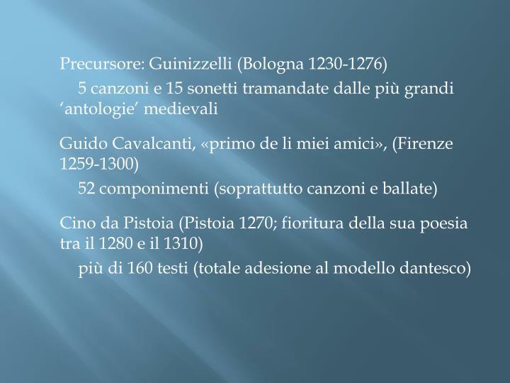 Precursore: