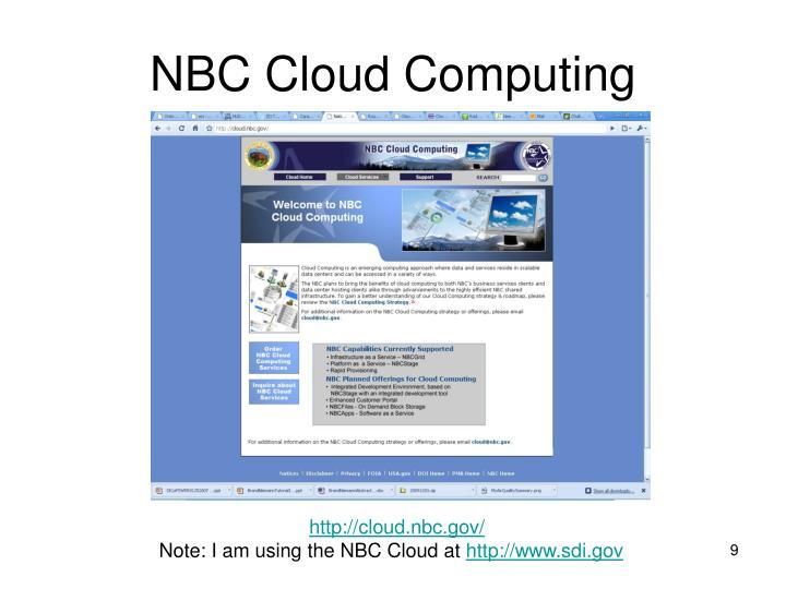 NBC Cloud Computing