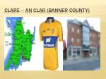 clare an clar banner county
