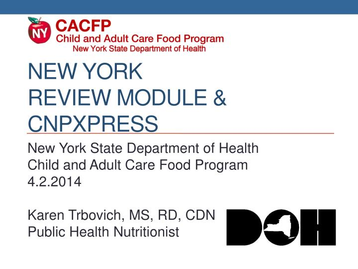 New york review module cnpxpress