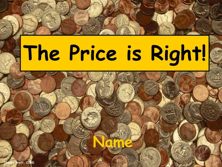 the price is right n.