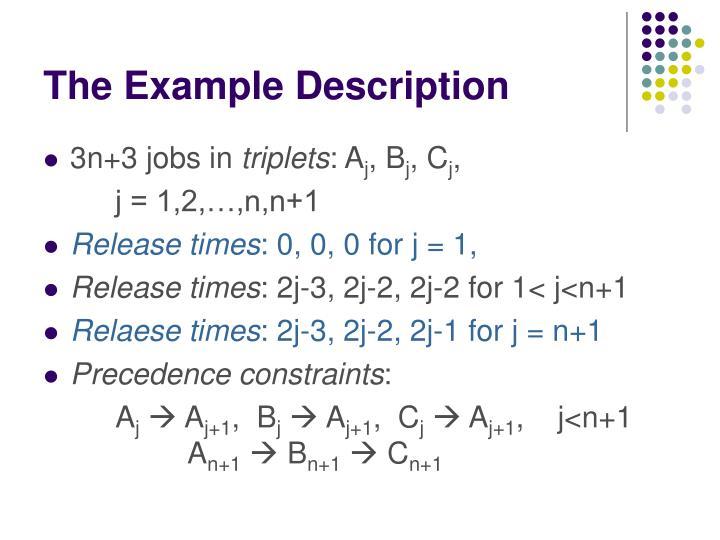 The Example Description