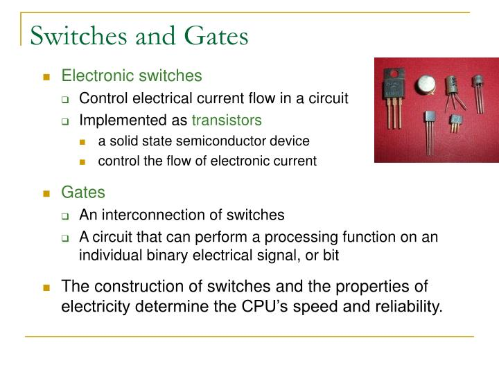 Switches and Gates