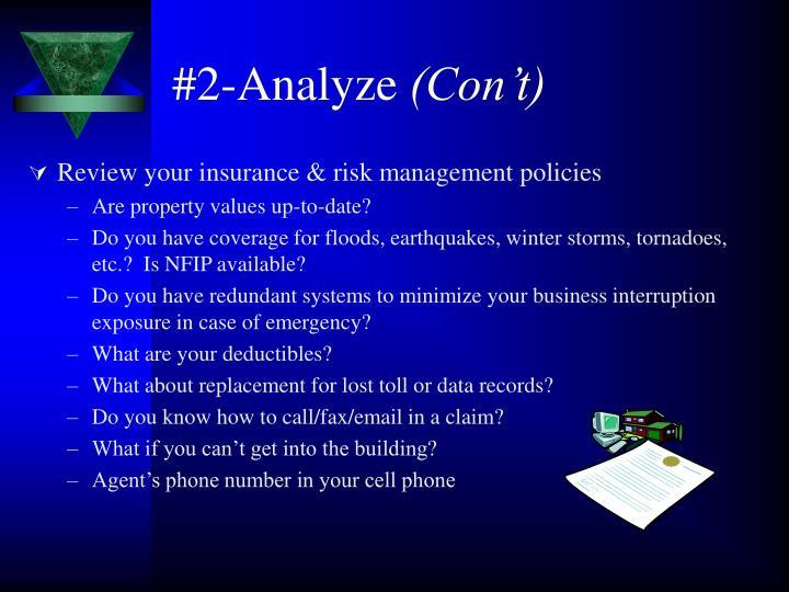 #2-Analyze