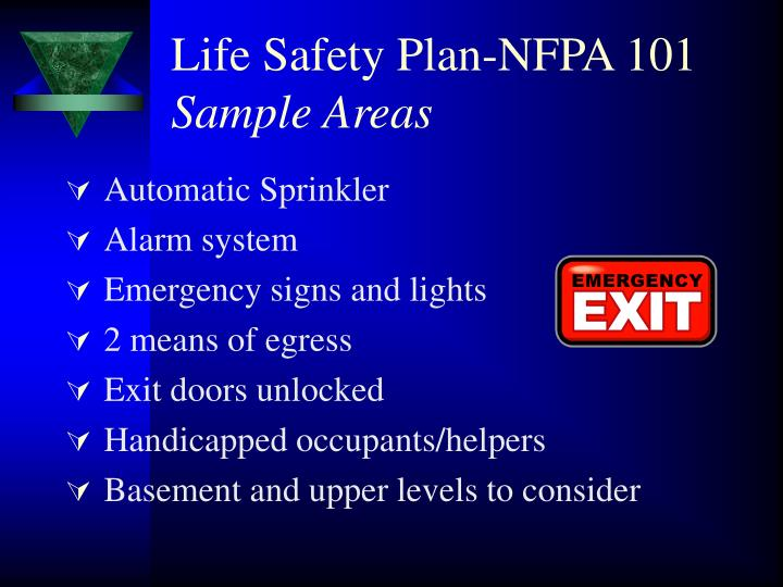Life Safety Plan-NFPA 101