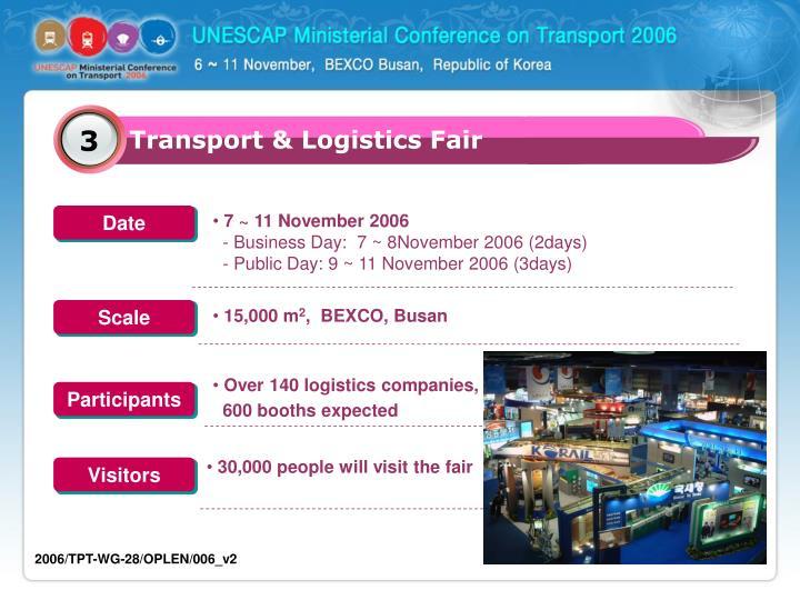 Transport & Logistics Fair