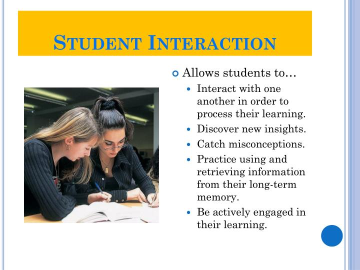Student Interaction
