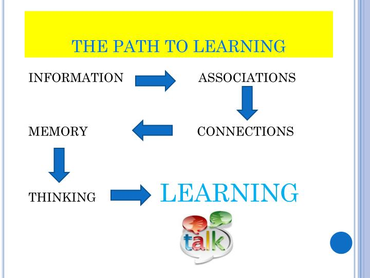 THE PATH TO LEARNING
