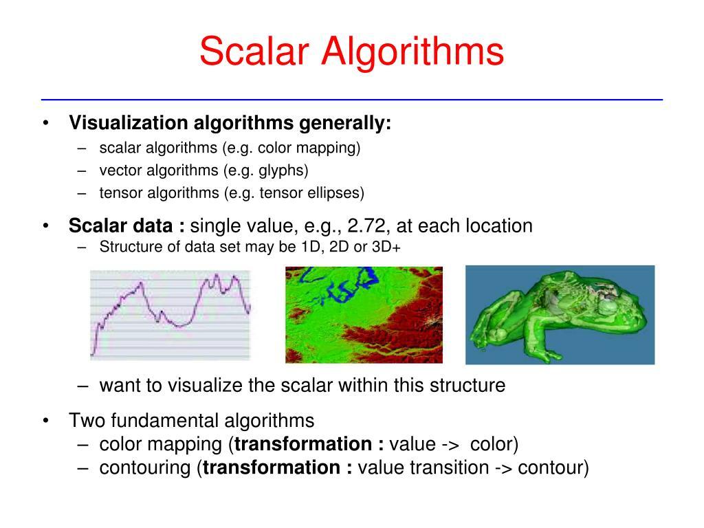 PPT - VTK: Fundamental Algorithms, Scalar – Color ...