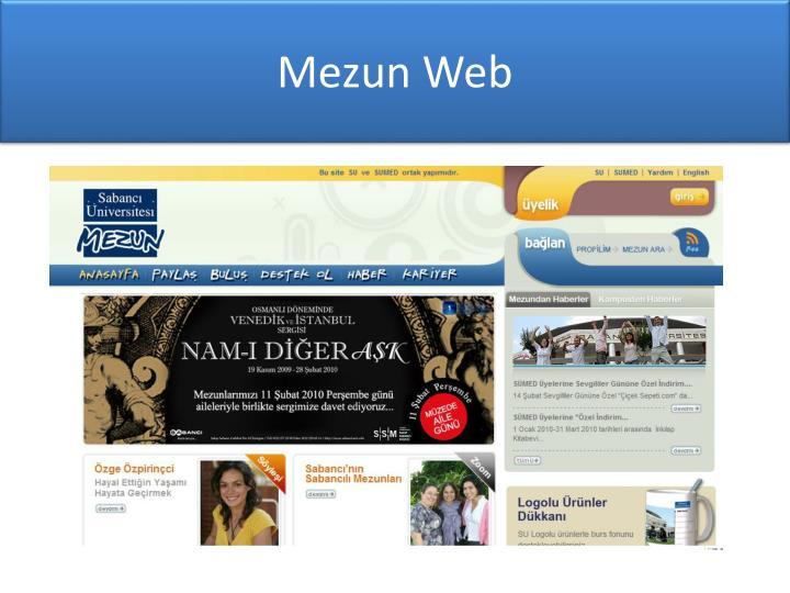 Mezun Web