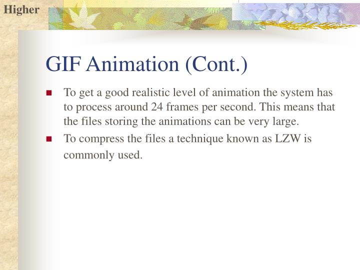 GIF Animation (Cont.)