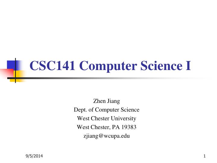 chester computer science