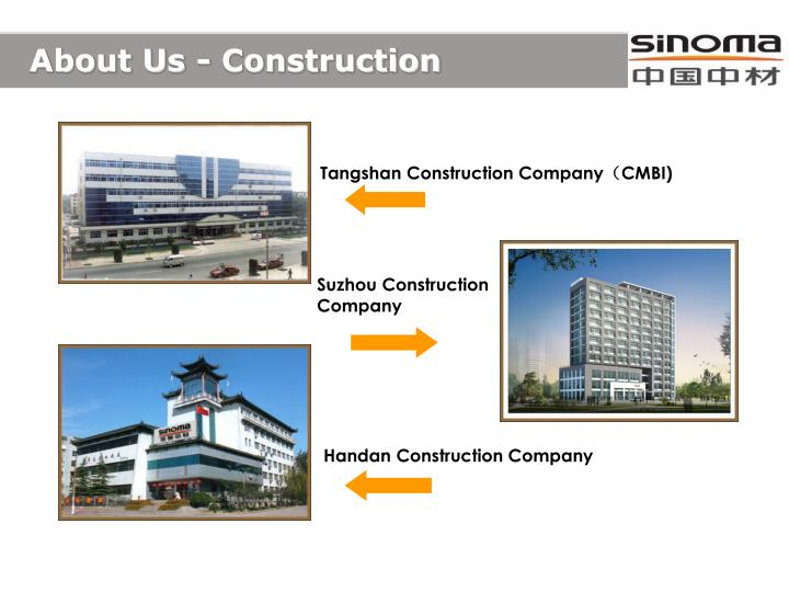 About Us - Construction