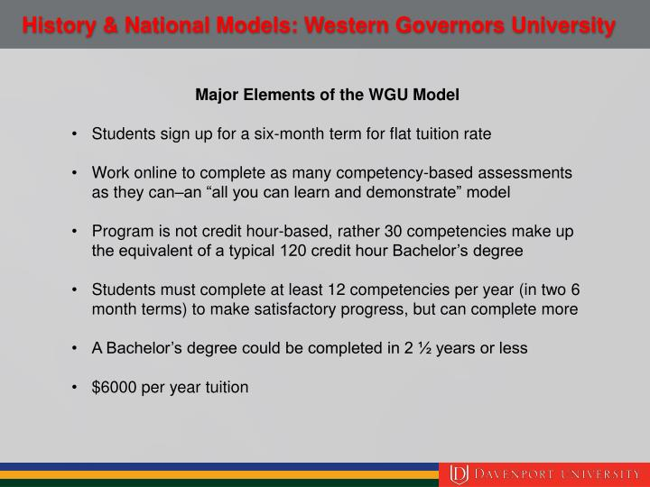 wgu business management capstone Wgu north carolina offers degrees, not classes as a competency-based online university, progress through your degree program is determined by demonstrating your competence through carefully designed assessments and completion of a professional portfolio, capstone, or both.