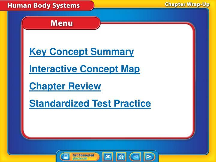Key Concept Summary