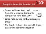 guangzhou automobile group co ltd