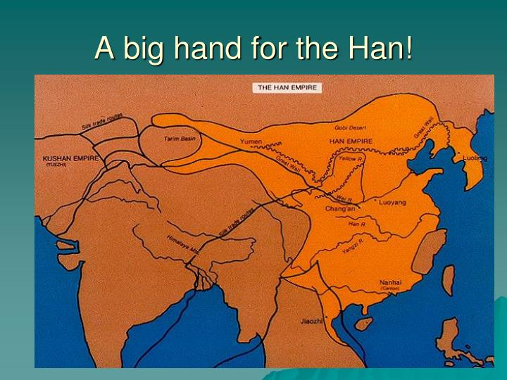 A big hand for the Han!