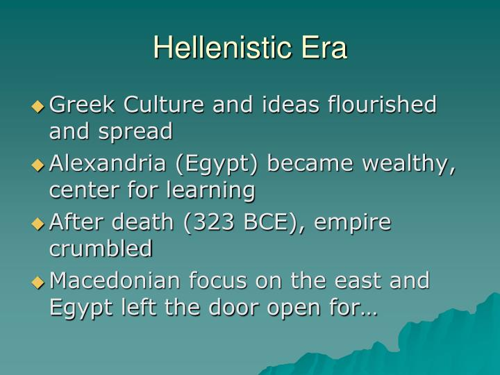 Hellenistic Era