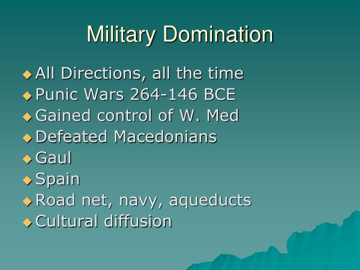 Military Domination
