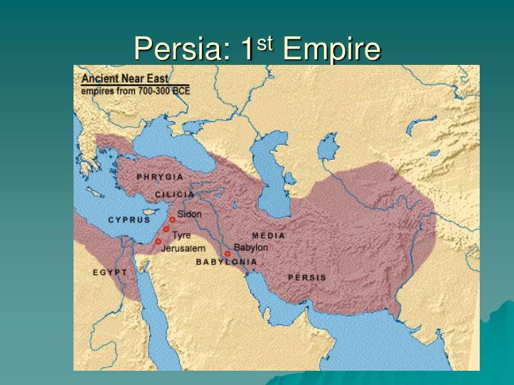 Persia: 1