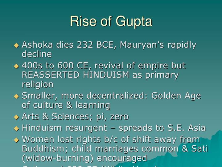 Rise of Gupta