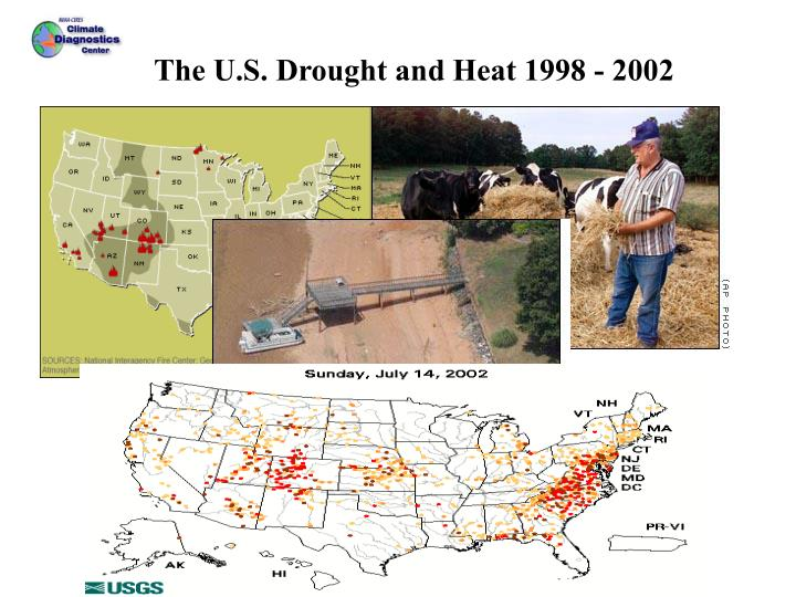 U.S. Drought 1998 - 2002