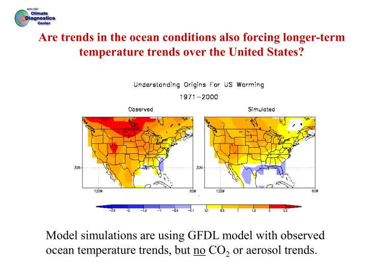 U.S. surface temp trends