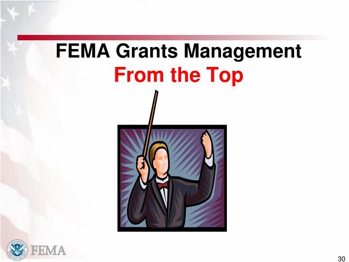 FEMA Grants Management