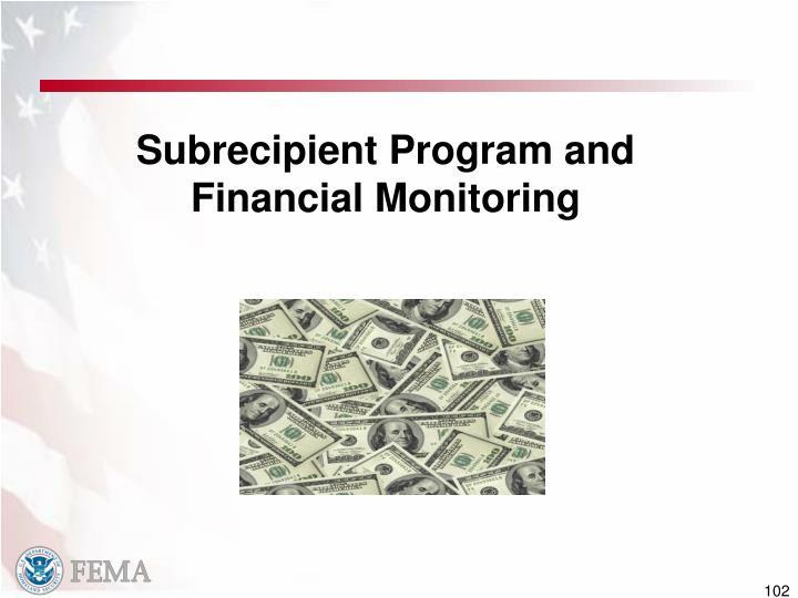 Subrecipient Program and