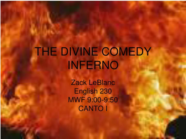 the divine comedy inferno n.
