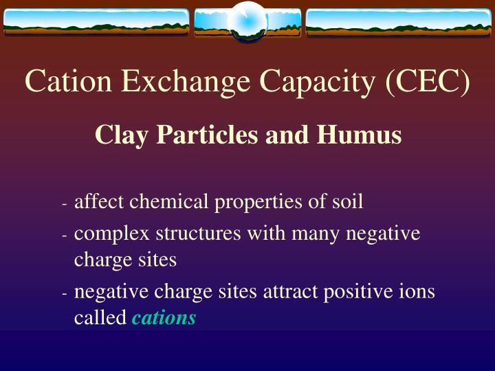 Cation exchange capacity cec