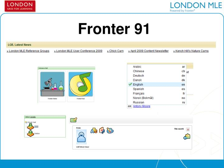 Fronter 91