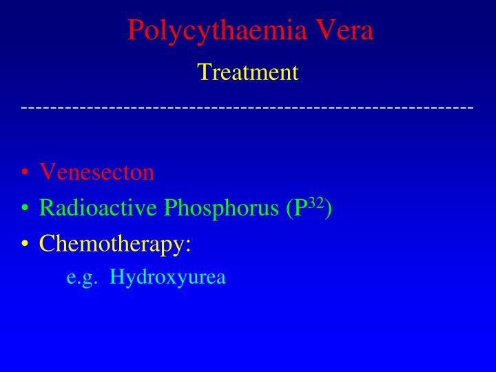 Polycythaemia Vera