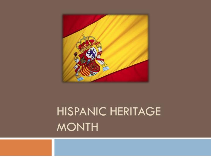 hispanic heritage month n.