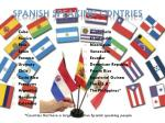 spanish speaking contries