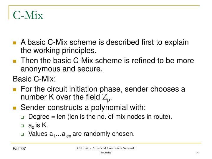 C-Mix