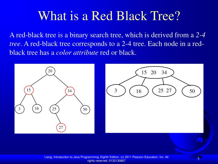 What is a red black tree