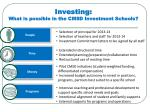 investing what is possible in the cmsd investment schools