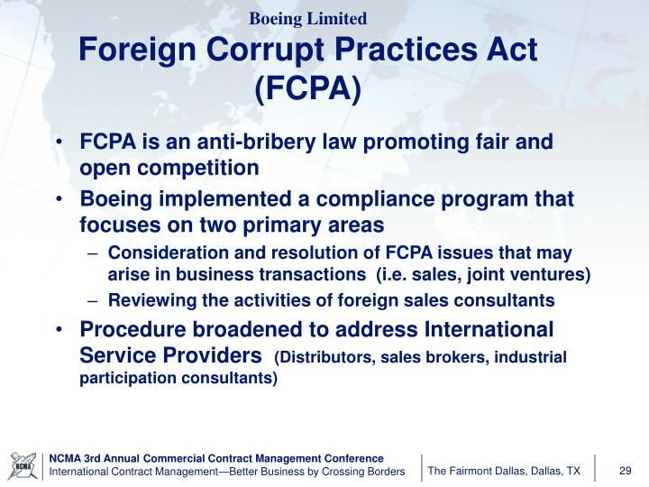foreign corrupt practices act essay Corbin wright teva pharmaceuticals is the largest generic pharmaceutical manufacturer in the worldas of december 22, 2016, teva pharmaceuticals now holds the record for the largest fine by a pharmaceutical company for violating the foreign corrupt practices act.