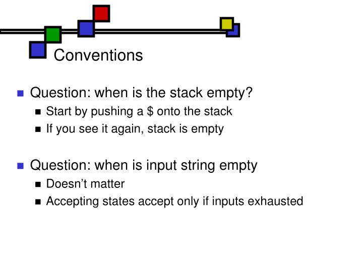 Conventions
